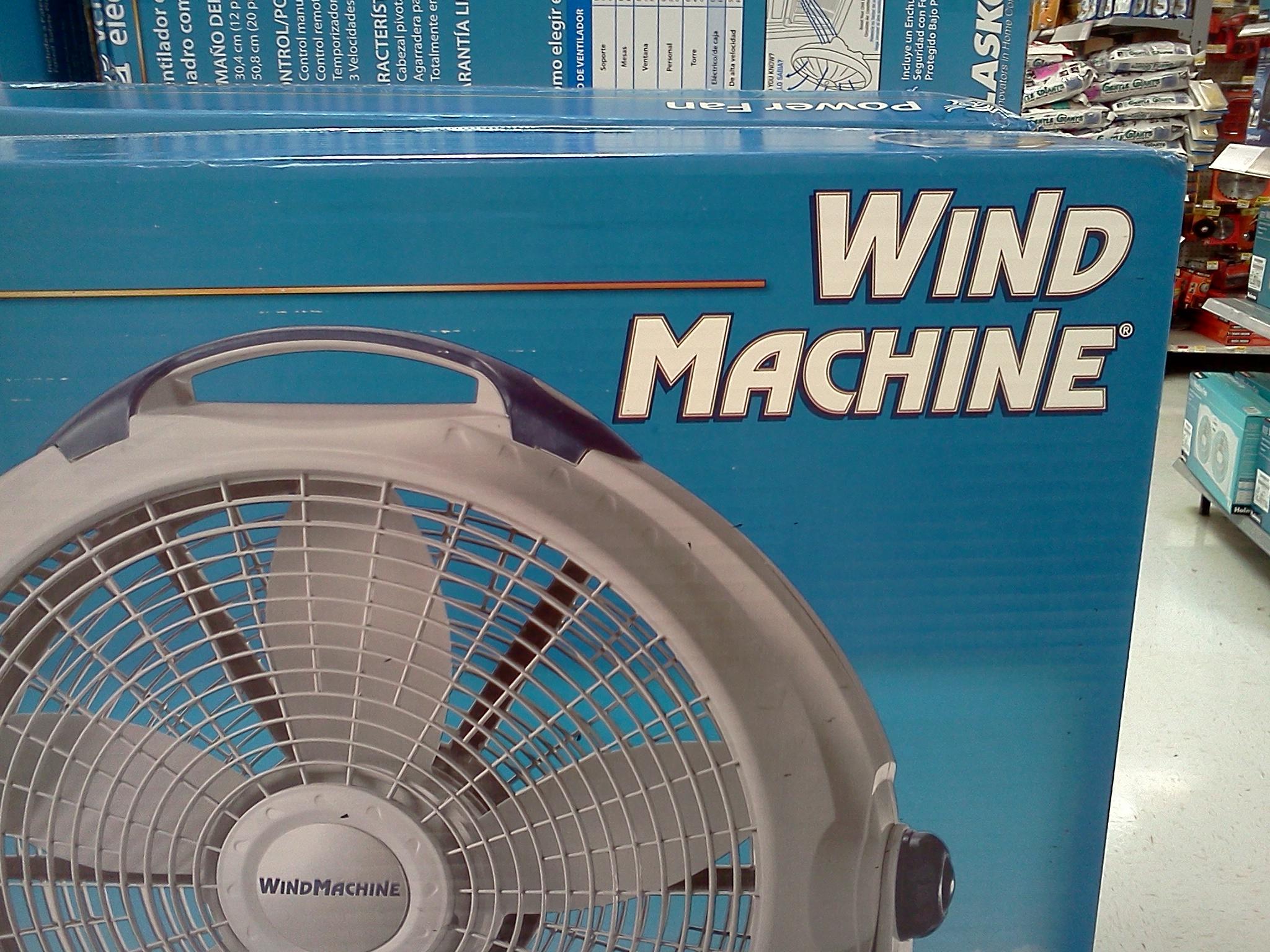 wind machine fan walmart